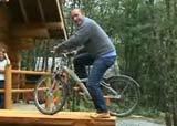 vélo sur table